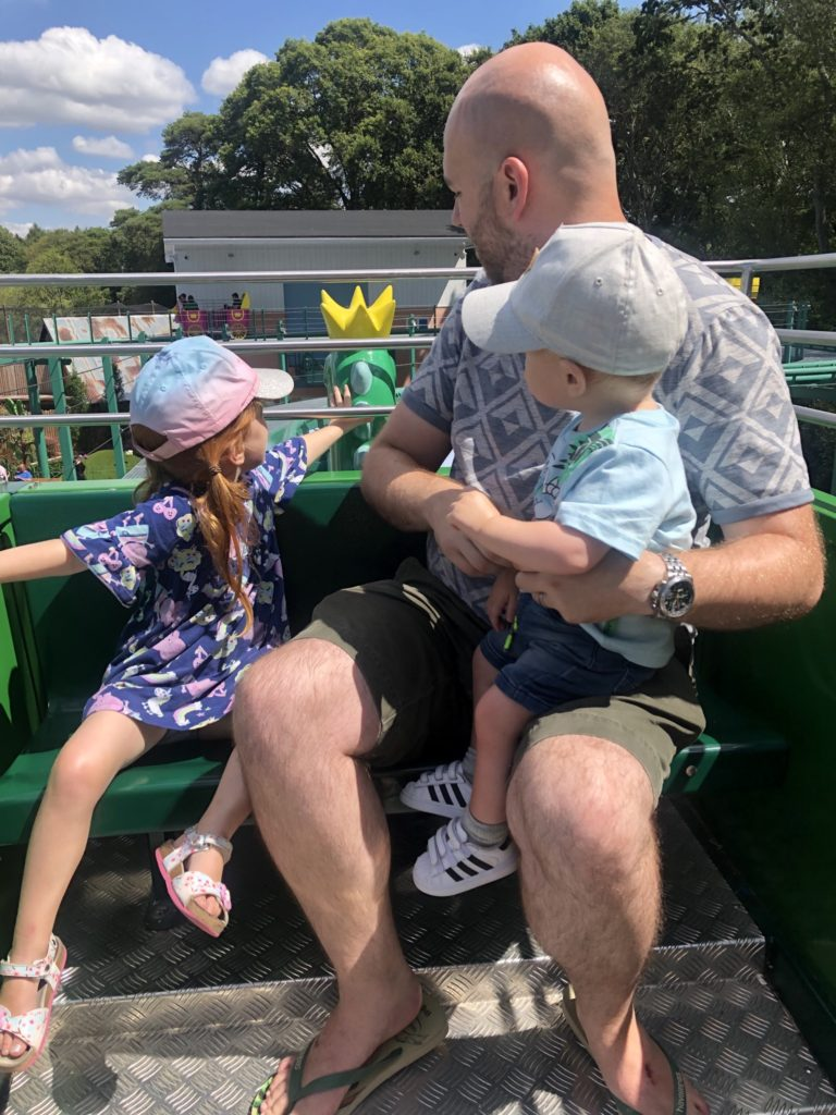 Queens Flying Coach Ride at Peppa Pig World